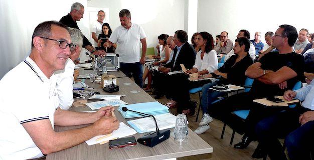 Pendant les opérations de vote