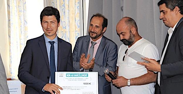 Le prix « Non au harcèlement » remis aux élèves de l'EREA d'Ajaccio