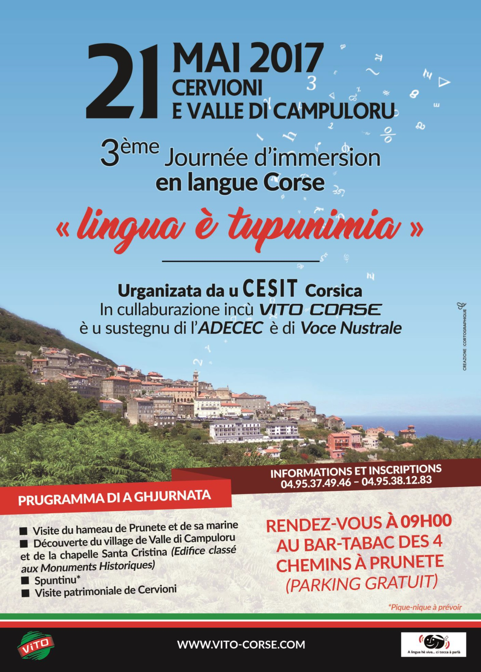 Cervioni : 3ème journée d'immersion en langue Corse