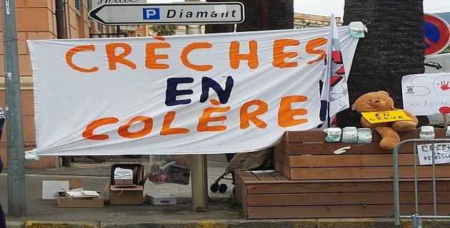 Le mouvement se durcit : La colère des personnels des crèches d'Ajaccio