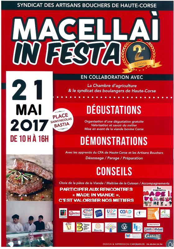 Bastia : I Macellai in Festa sur la place Saint Nicolas