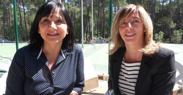 Marielle Lanzalavi et Anne Farrucci diététiciennes