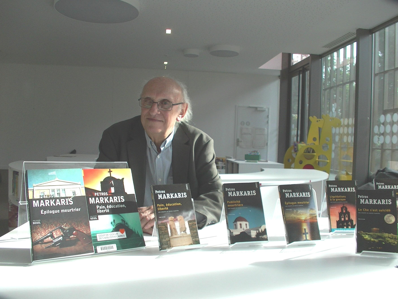 Le romancier Pétros Márkaris invité de l'Alb'Oru à Bastia
