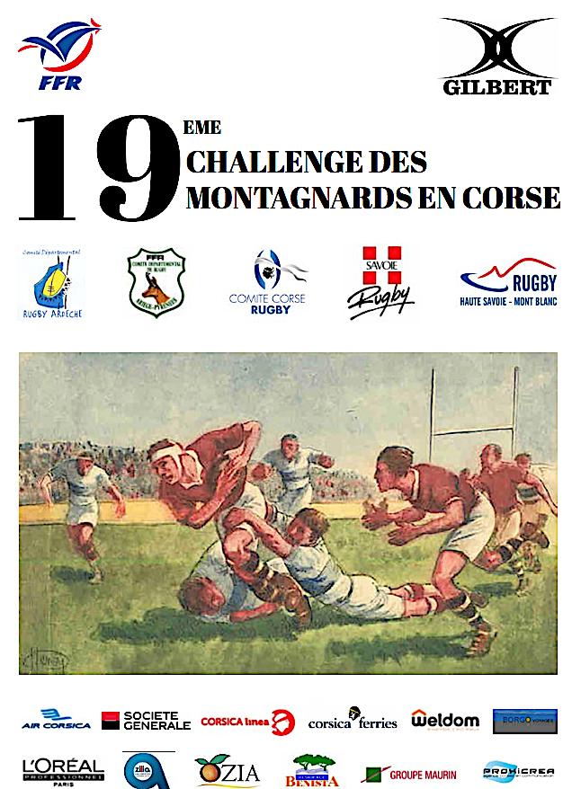 Rugby : Le 19eme challenge des Montagnards entre Folelli et Porto-Vecchio