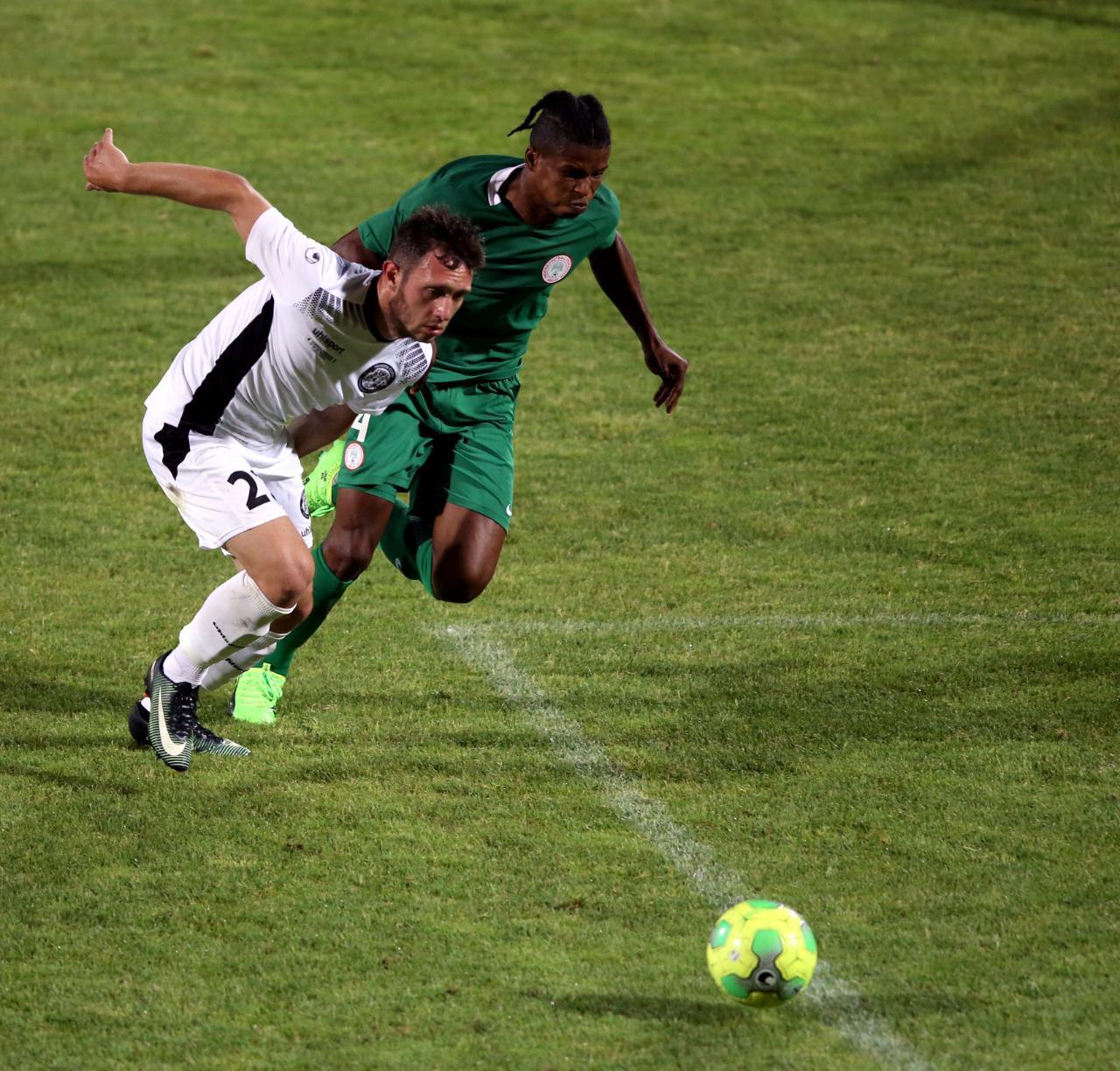La Squadra Corsa accroche le Nigéria (1-1)