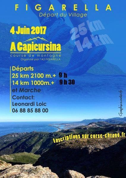 Trail : Figarella accueille la Capicursina ce dimanche