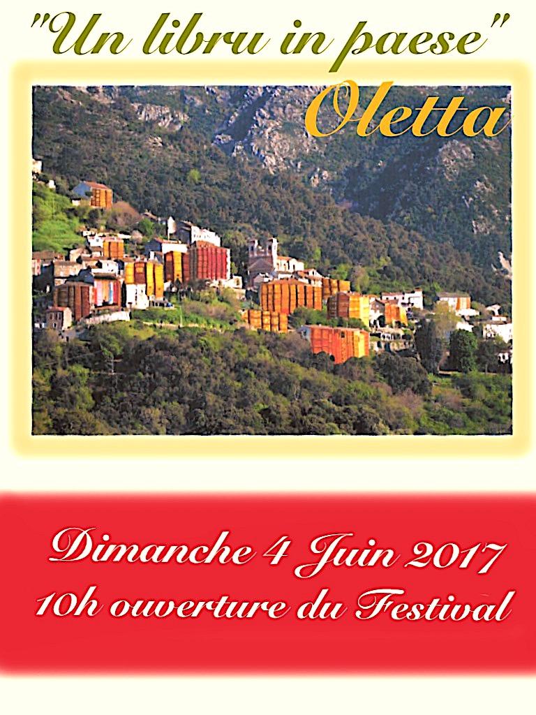 """Oletta : Deuxième édition de """"Un  Libru in  Paese"""""""