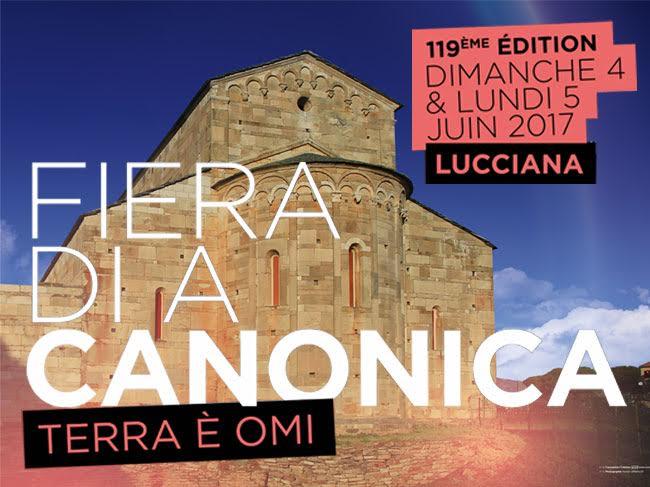 Dumenica è luni, 119ema Fiera di a Canonica in Lucciana