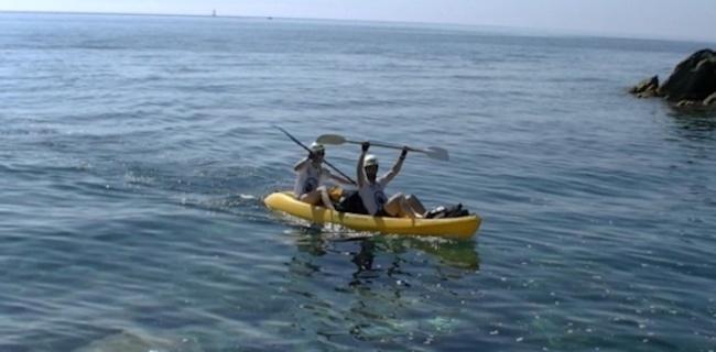 Corsica Raid Aventure : Une 2ème étape à la pagaie !