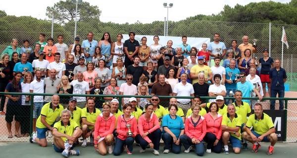 XXXIèmes Championnats de Corse de Tennis à Calvi : L'heure de la remise des prix