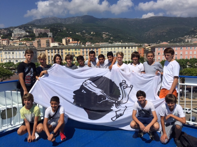 Les U15 du Football Club Squadra Calvi à Pegomas - Corse Net Infos