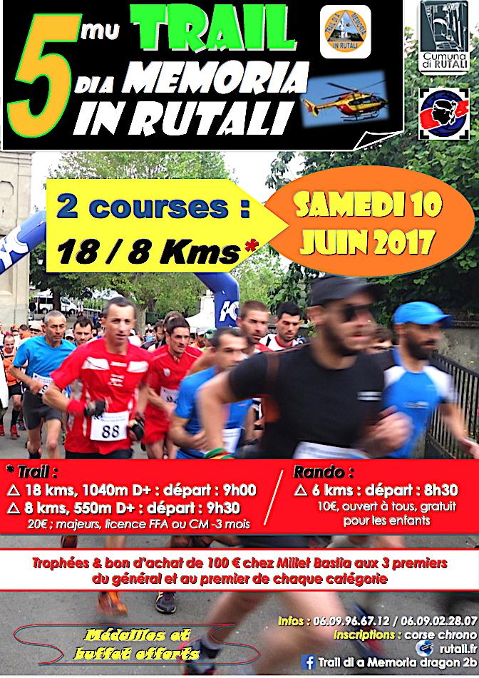 Trail di a memoria in Rutali