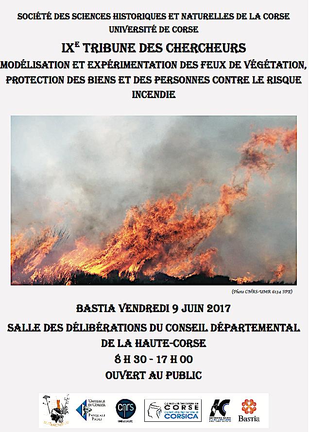 Société des Sciences : Les incendies au cœur des débats de la 9ème tribune des chercheurs