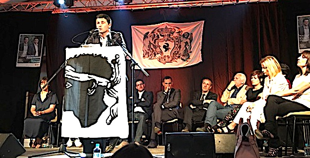 Jean-Felix Acquaviva - Petr'Antò Tomasi: Meeting à L'ile-Rousse