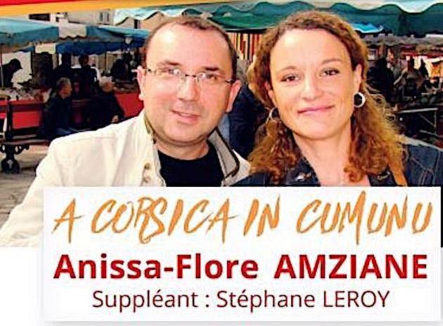 Législatives : Anissa-Flore Amziane (PC, Front de Gauche)