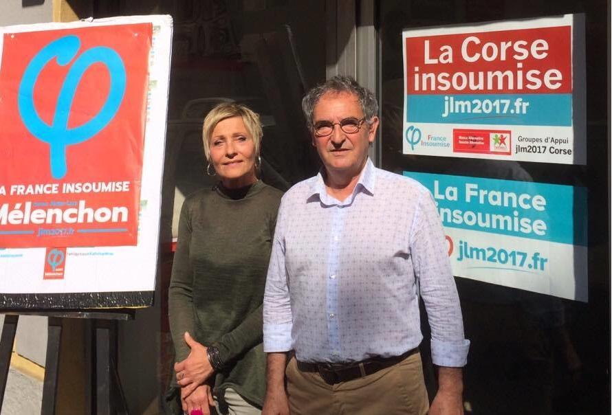 Législatives : Casamarta-Malfroy, pour « un avenir en commun » dans la 1ère circonscription de Corse-du-Sud.