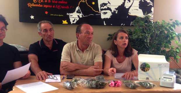 Le syndicat Oliu di Corsica.