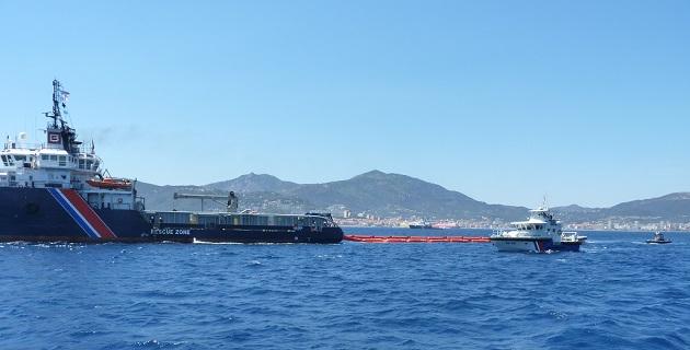 Lutte antipollution au large d'Ajaccio : Le gros exercice grandeur nature