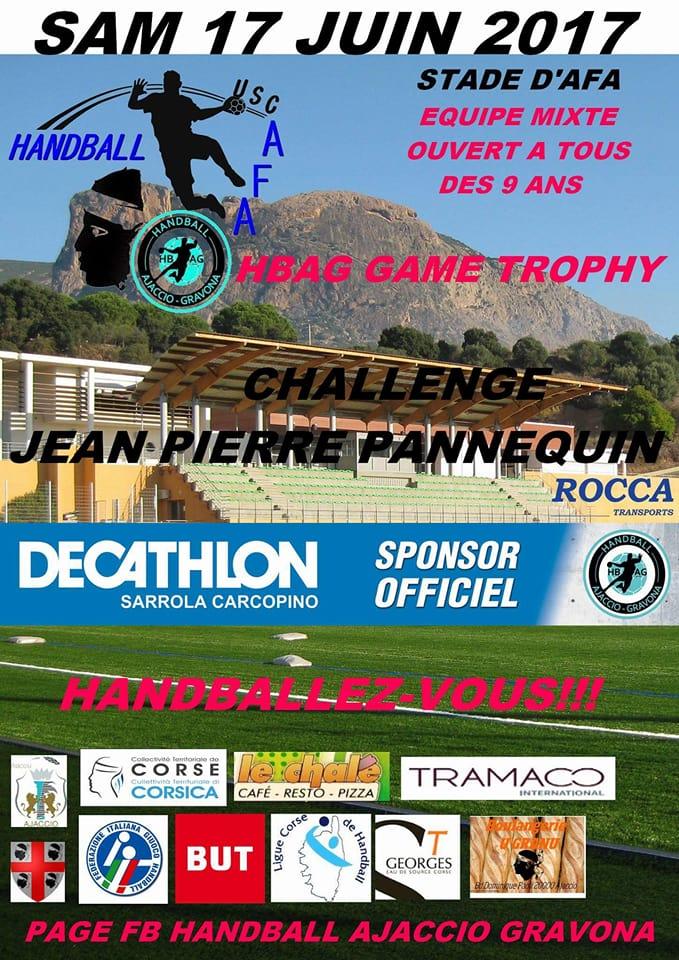 Handball : Première édition du HBAG GAME TROPHY ce samedi