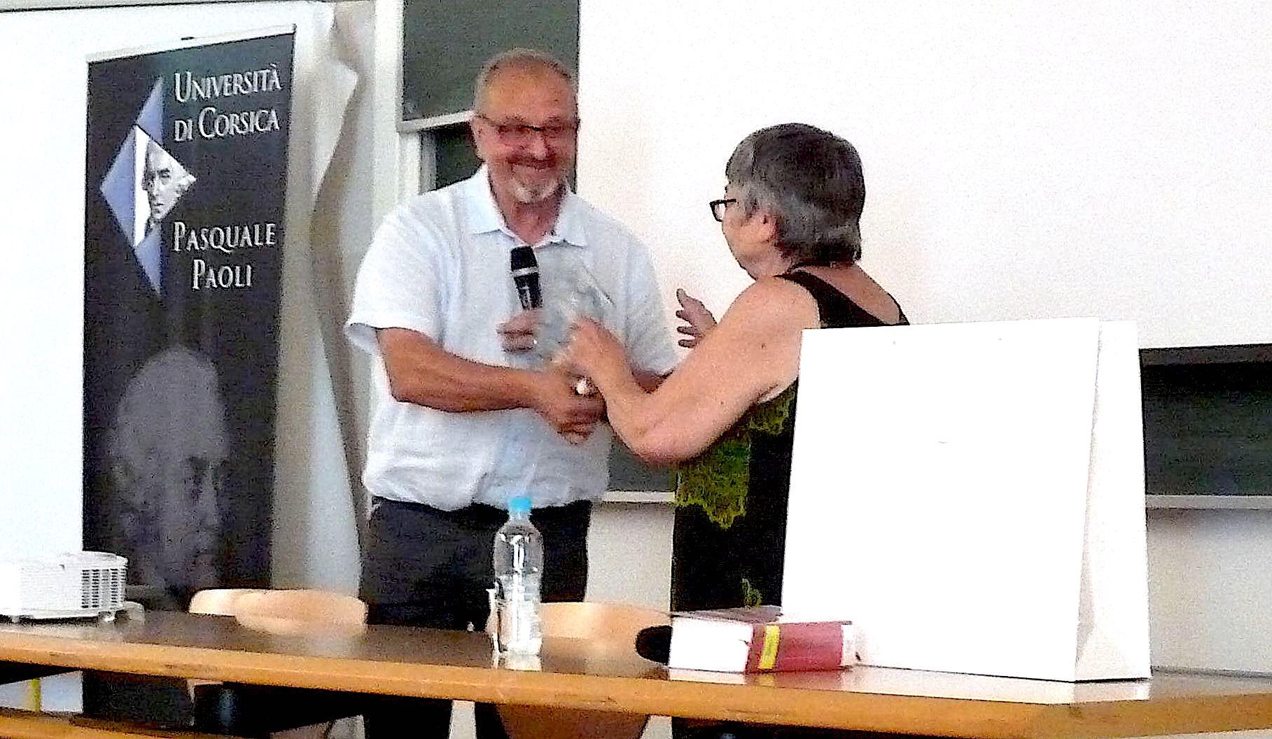Jean Costa et Francine Demichel