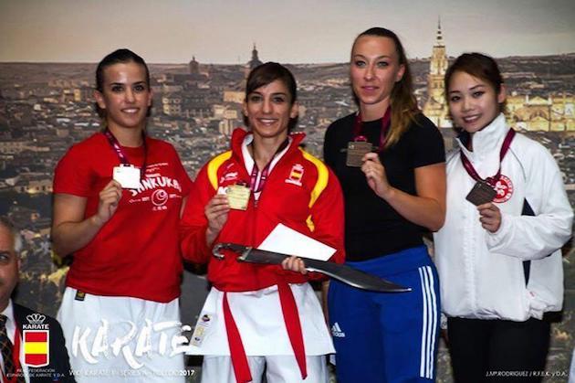 Karaté : Alexandra Feracci, troisième à l'Open international d'Espagne