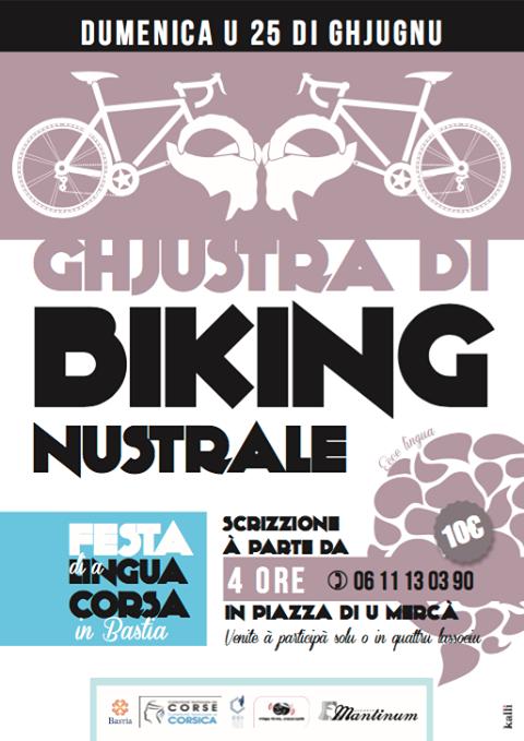 Ghjustra di biking nustrale in Bastia