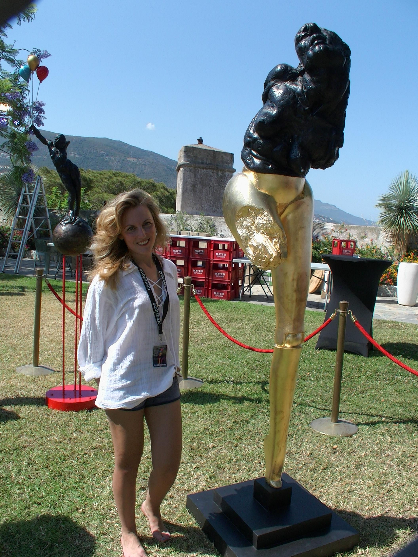 Bastia : Les sculptures de Prescilla-Mary Maisani au festival Creazione