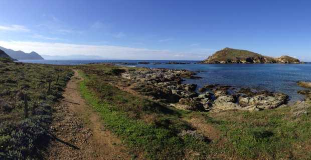 Le parc marin du Cap Corse, ilot Capense, commune de Centuri.