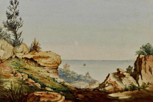 «E Ville di Petrabugnu» et  «visiteurs célèbres»