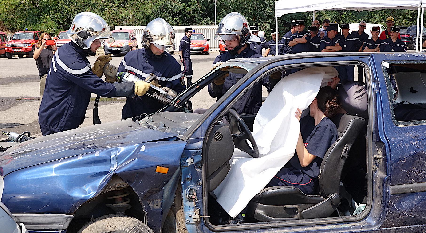 Journée nationale des sapeurs-pompiers : Démonstrations et remise de matériel à Lucciana