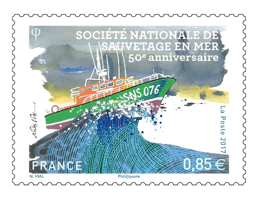 La Société Nationale de Sauvetage en Mer (SNSM) fête son 50e anniversaire