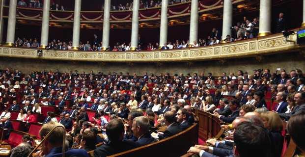Les députés nationalistes font leur entrée à l'Assemblée nationale