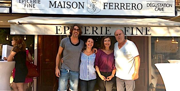La médaille d'or du Prix des Epicures pour la Maison Ferrero d'Ajaccio.
