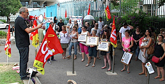"""CORSSAD : La CGT """"met la pression"""" à Bastia"""
