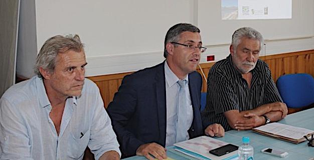 Réunion de concertation à la Sous-préfecture de Calvi pour l'élaboration du SCoT de Balagne