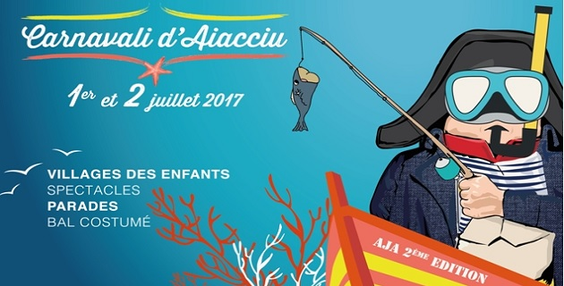 Carnaval d'Ajaccio : Une seconde édition sous le signe de la mer