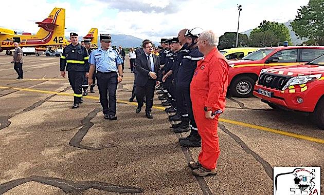Ajaccio : Présentation du dispositif 2017 de lutte contre les incendies en Corse-du-Sud