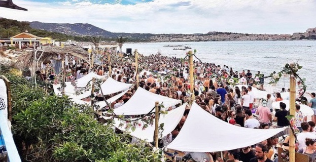 """All in You"" pour lancer ""In Casa Beach"" Calvi On The Rock 2017"