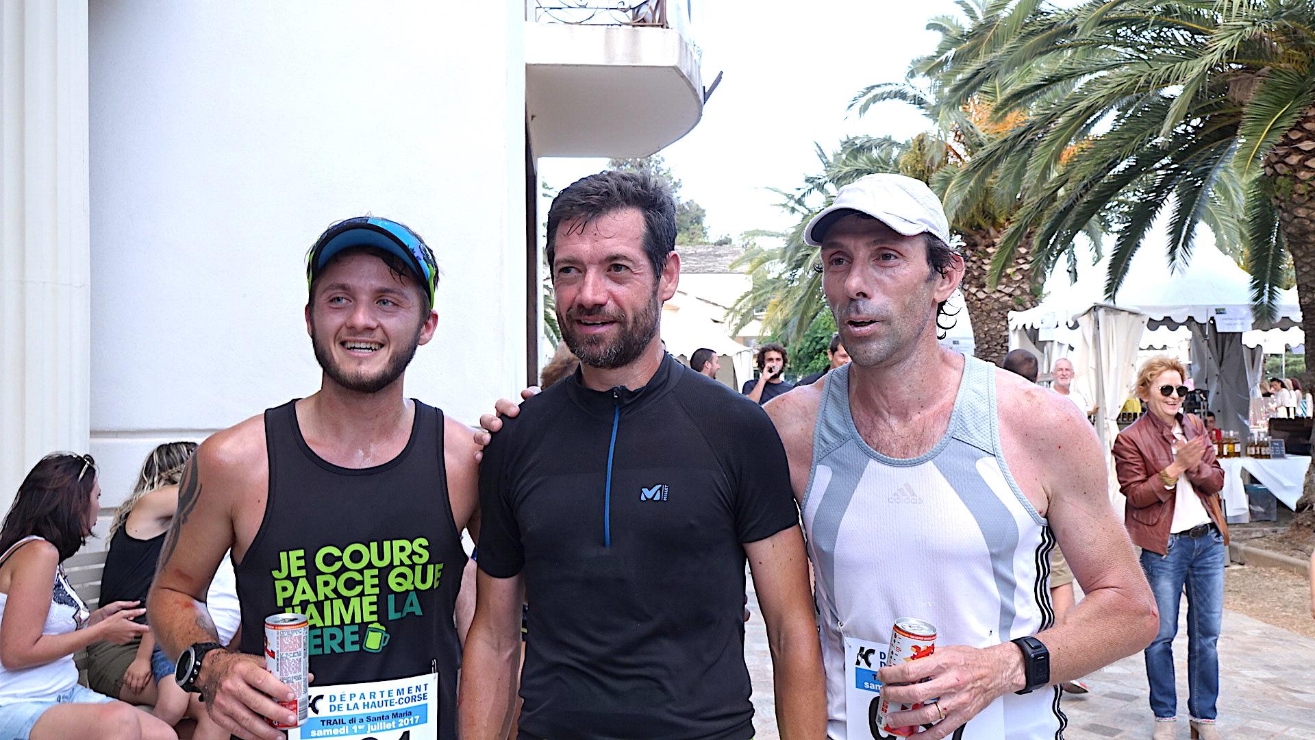 Loïc Leonardi, Franck Biaggi, Jean-Emmanuel Vittori : le trio gagnant