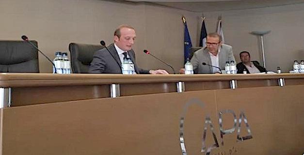 Le nouveau président de la CAPA est... Laurent Marcangeli