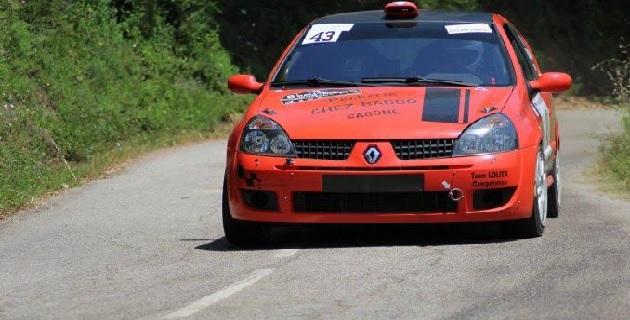 7ème Rallye Celavu-Prunelli : Paul-Antoine Santoni seul au monde