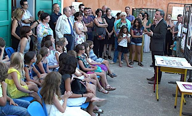 Cardo : L'école du village, annexe du musée de Bastia …