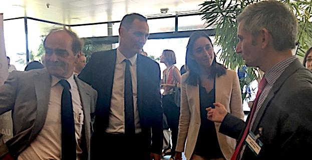 Ségolène Royal et Brune Poirson aux Assises Nationales de la Biodiversité