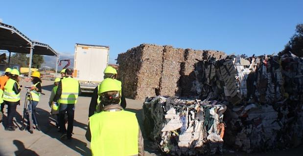 Les déchets se sont enflammés au centre de tri de BIguglia