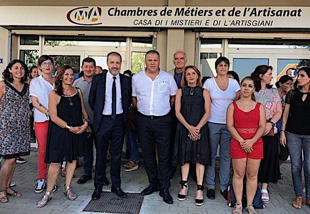Bastia : Remise de prix pour les diplômés de l'artisanat