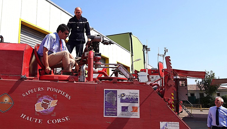 """Pompiers et Sécurité civile : """"Une attention toute particulière à la Corse"""""""