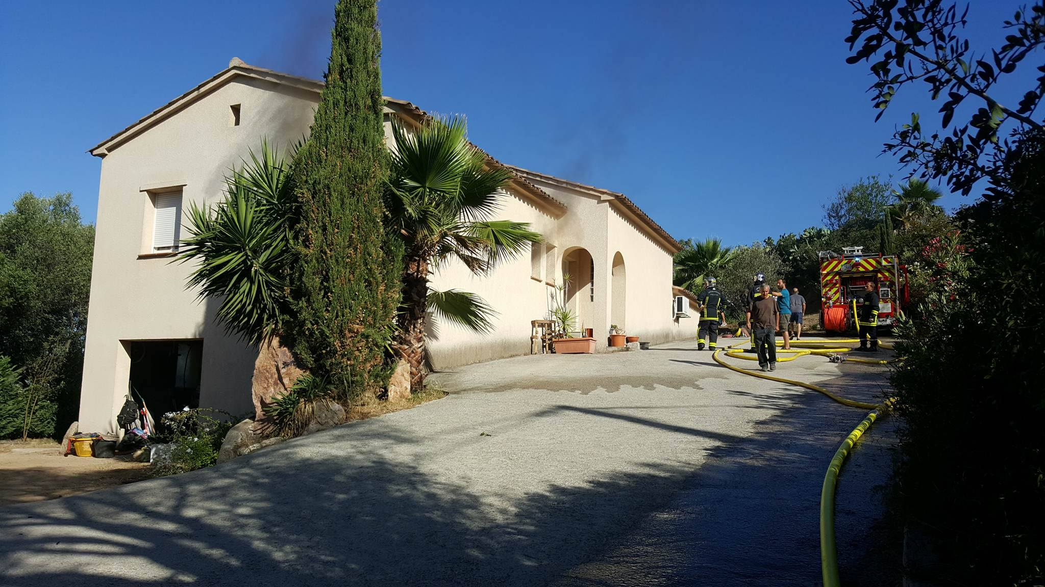 Bastelicaccia : Incendie dans une maison