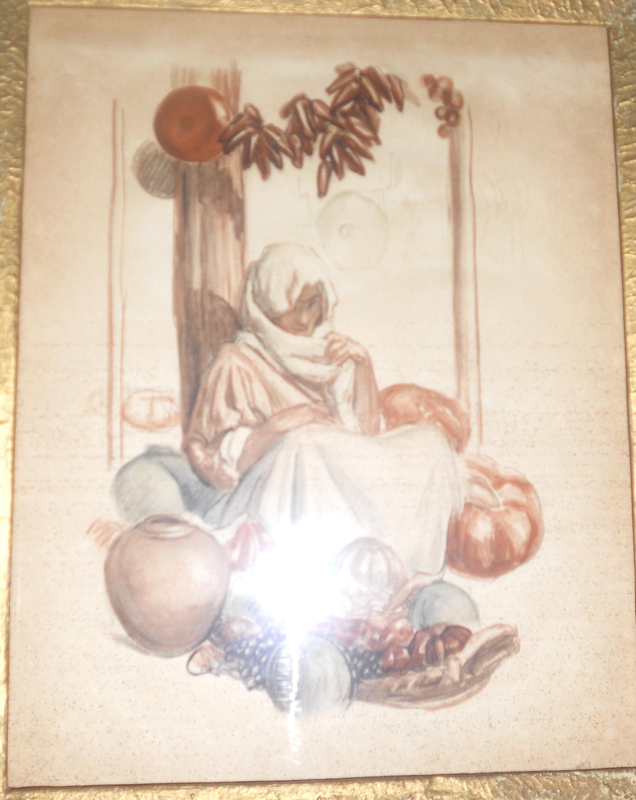 Musée Fesch : L'Unione Corsa d'Antibes propose en vain des dessins de Léon-Charles Canniccioni