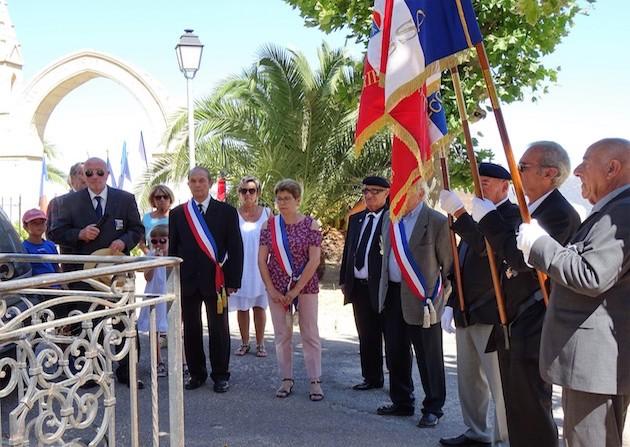 La FNACA de Haute-Corse présente dans les villages de Balagne pour commémorer le 14 juillet