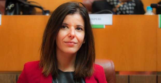 Laura Maria Poli, conseillère territoriale du groupe Corsica Libera et présidente de la Commission du développement social et culturel.